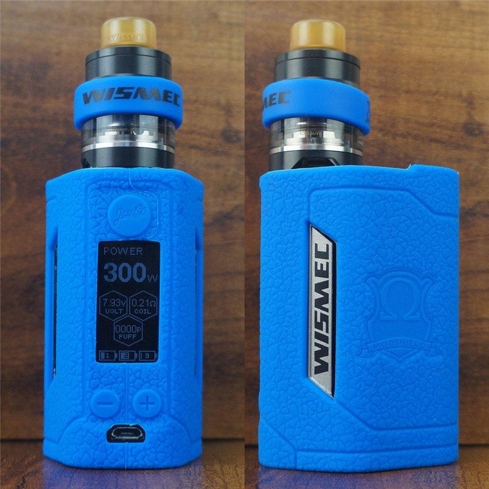 ModShield for Wismec Reuleaux RX GEN3 300W TC Silicone Case & Tank Band  ByJojo GEN 3 Skin Cover Sleeve Shield (Blue)