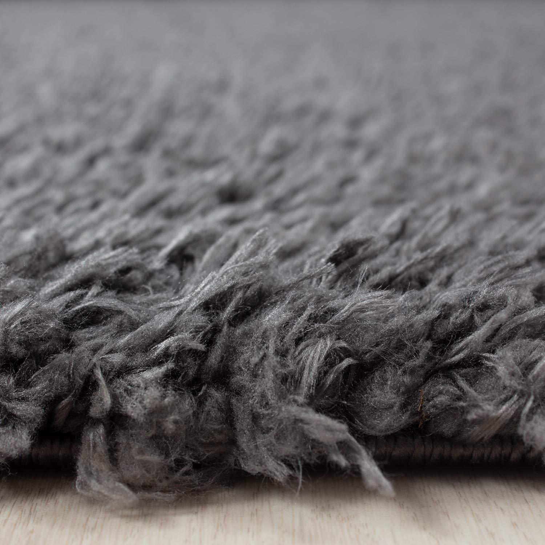 Hochflor Schaffell Shaggy Teppich Langflor einfarbig kuschelig 45 45 45 mm Florhöhe, Farbe Beige, Maße 240x340 cm B07GSJBXY7 Teppiche 1b168e