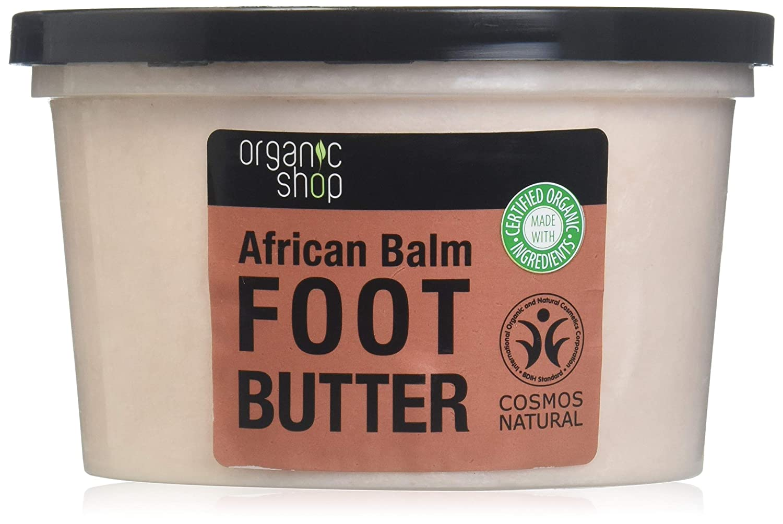 MANTECA PARA PIES BÁLSAMO AFRICANO, 250 ml Organic Shop 4744183011786