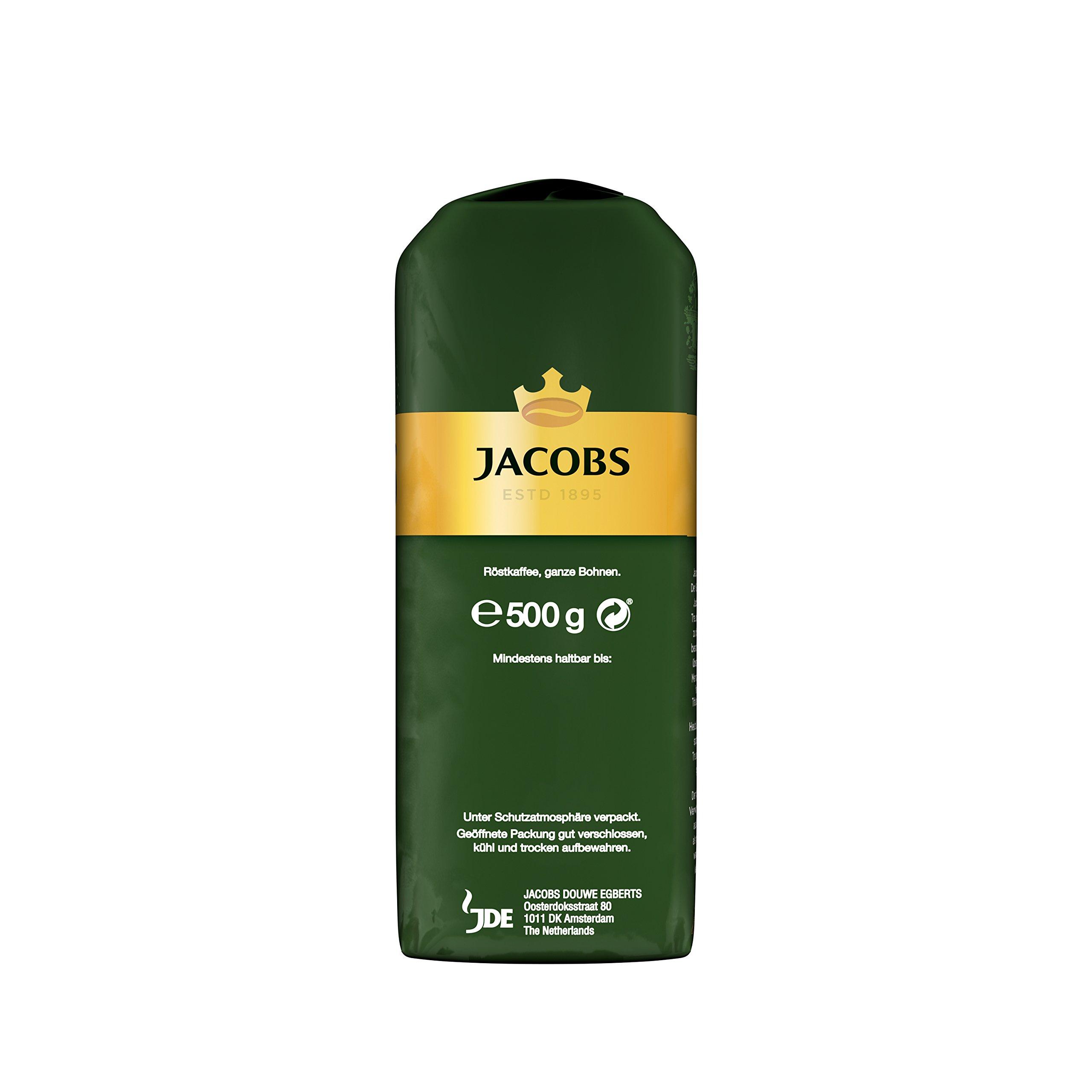 JACOBS KRONUNG WHOLE BEAN AROMA BOHNEN COFFEE CASE 12 x 500g by JACOBS WHOLE BEAN COFFEE (Image #5)
