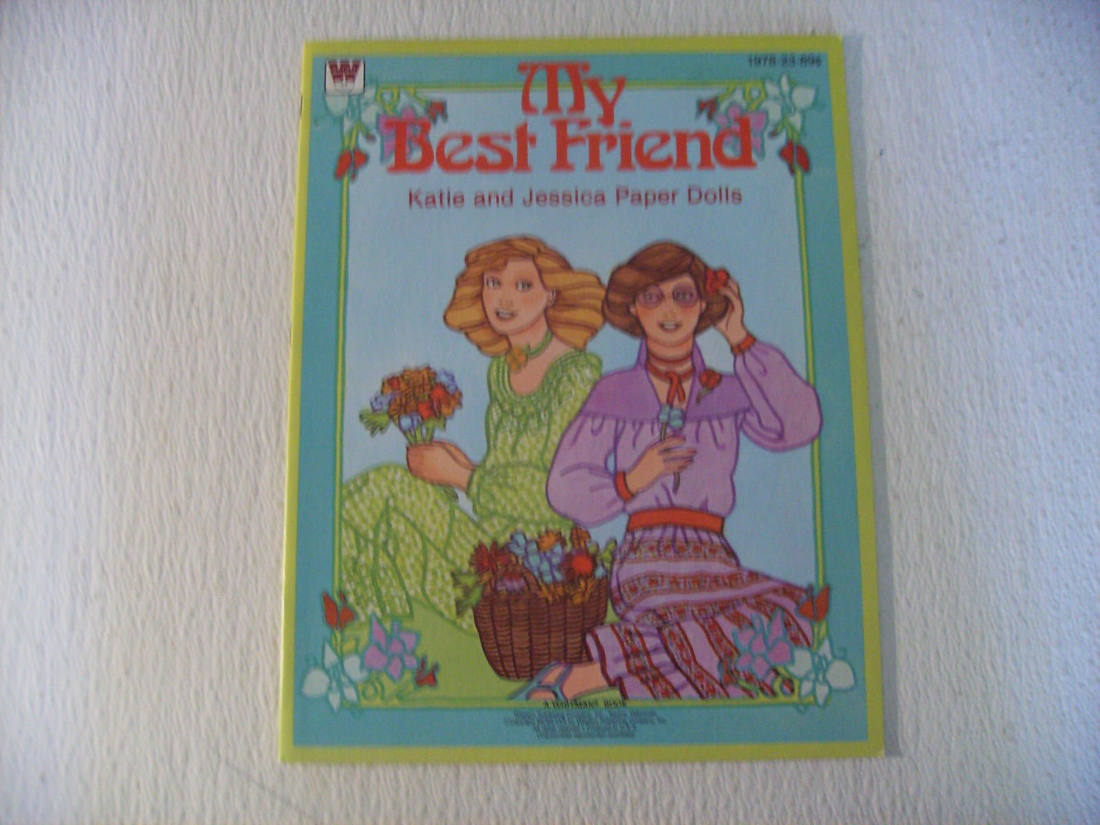Whitman My Best Friend Katie and Jessica Paper Dolls 1980