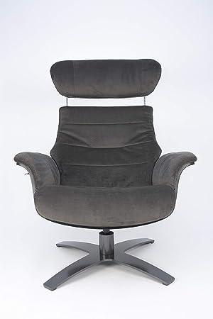 My New Design Vega - Sillón de Terciopelo, Color marrón ...