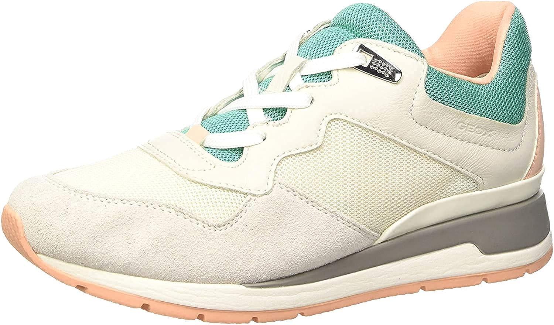 Excelente autoridad dominar  Geox D Shahira B, Sneakers Basses Femme: Amazon.fr: Chaussures et Sacs