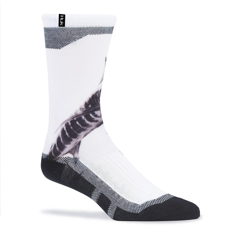 Spandex American Marlin Baumwolle Polyester Huk Graphic Crew Socken