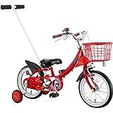 アイデス (ides) かじとり カジー14 / ミッキーマウス 14インチ 子ども用 キッズ 自転車 幼児車 かじとり ディズニー レッド