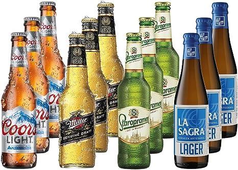 Lagers del Mundo Pack Degustación de Cerveza - 12 botellas x 330 ...