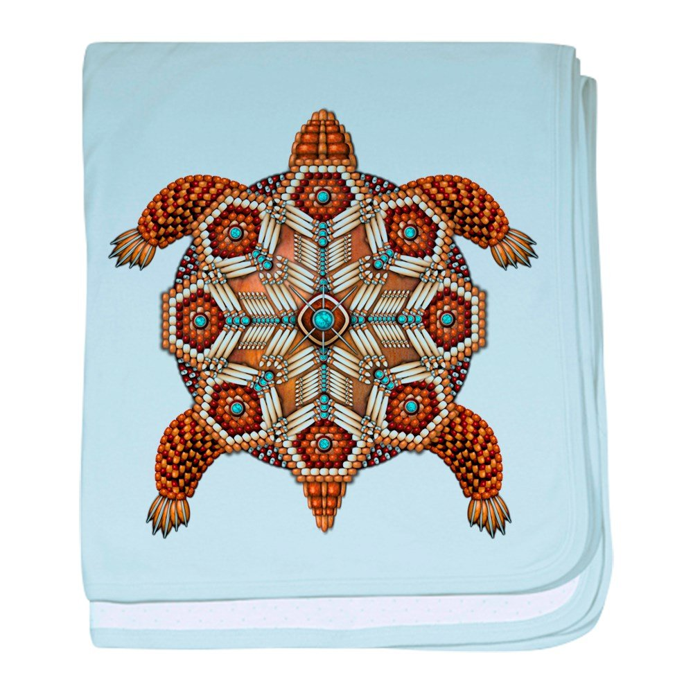 CafePress - Native American Turtle 02 - Baby Blanket, Super Soft Newborn Swaddle