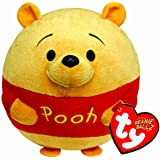 Ty - Bola de peluche con diseño de Winnie y sonido, 15 cm, color