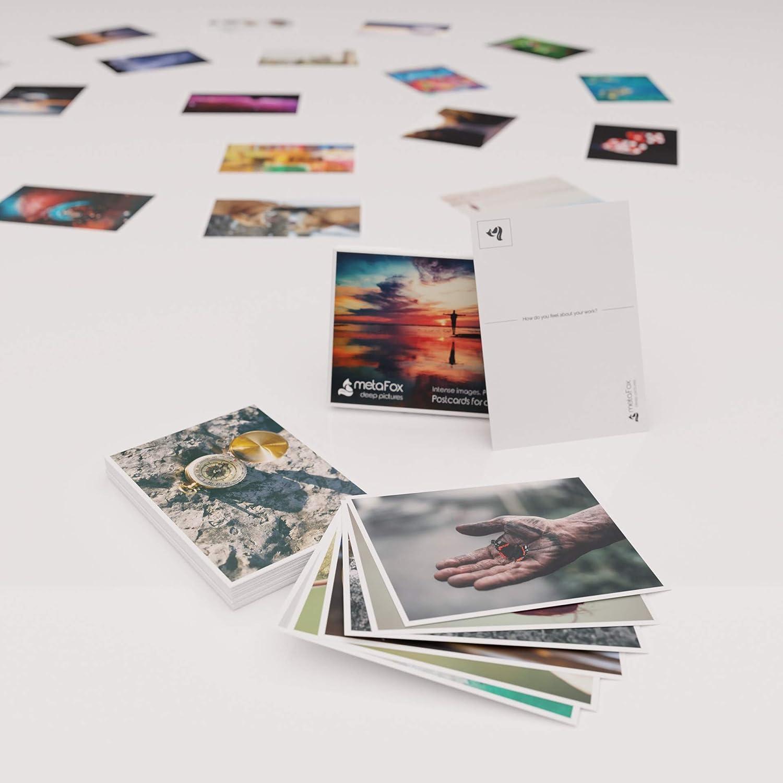 Fran/çais MetaFox Deep Pictures Lot de 52 cartes postales Intensive Photos