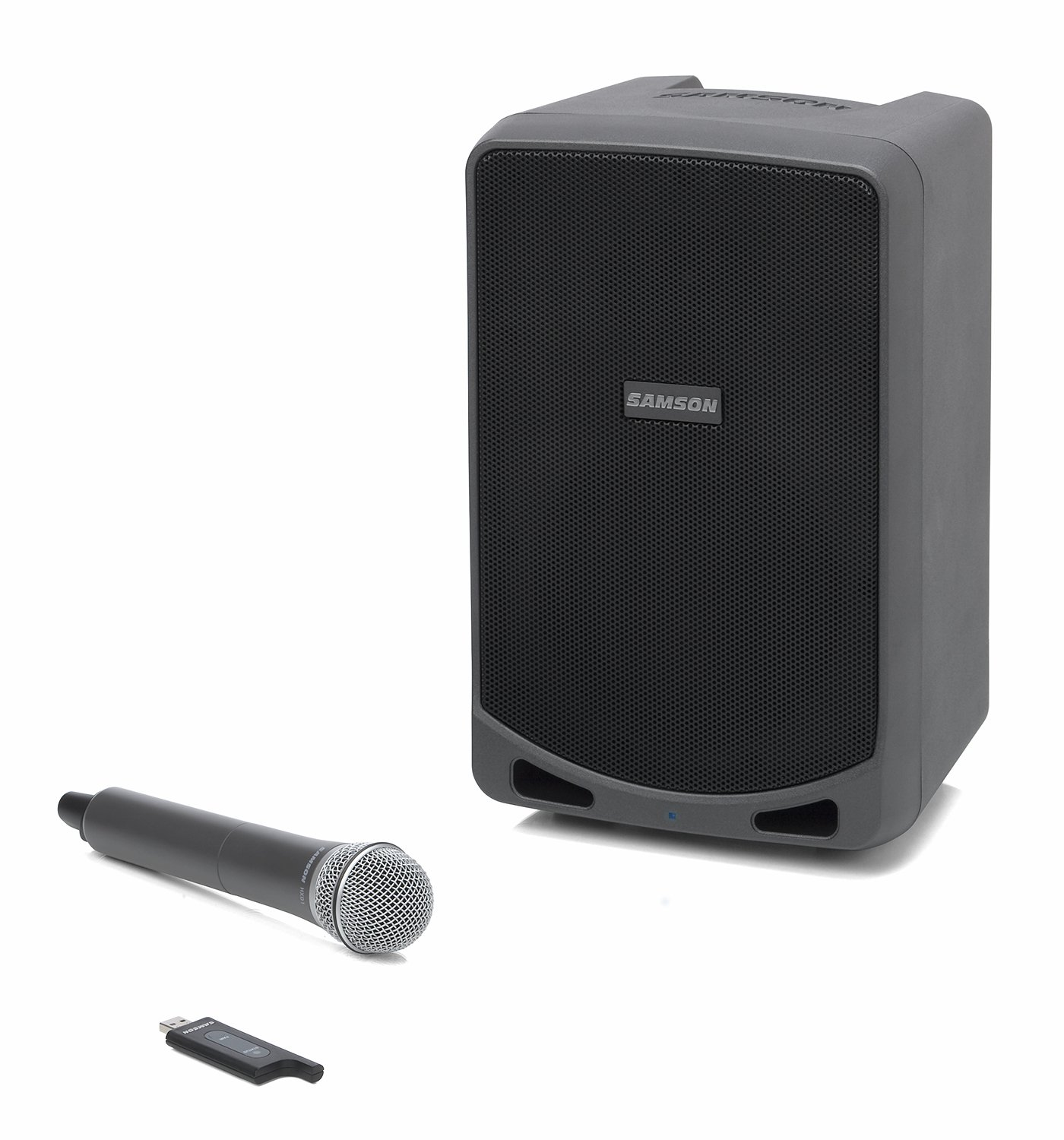 samson expedition xp106w rechargeable battery powered