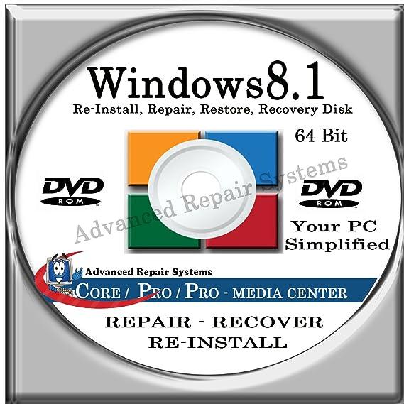 win 8.1 system repair disk