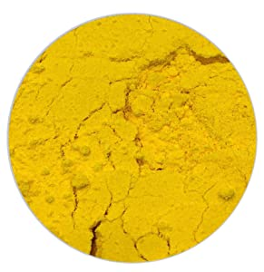 Ultimate Baker All Natural Yellow Food Color - Kosher Yellow Food Coloring Powder for Airbrush or Gel Paste Cake Decorating (1oz - 28g)