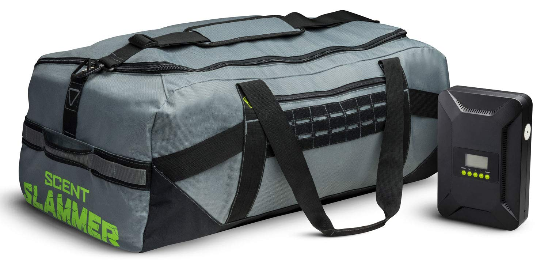 HME Scent Slammer Duffle Bag, Scent Eliminator Ozone Air Cleaner