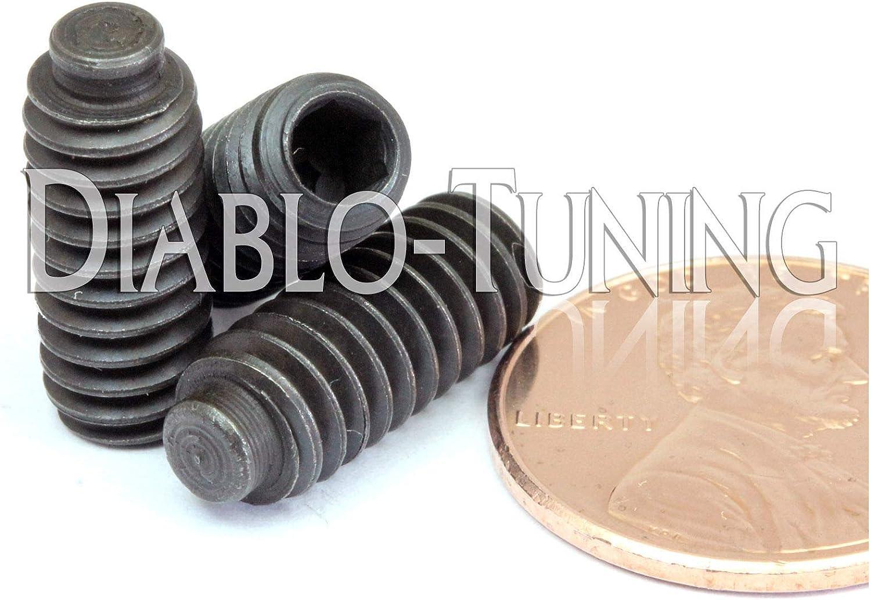 Qty 10 Half Dog Point Socket Set//GRUB Screws Alloy Steel 1//2 1//4-20 x 5//8