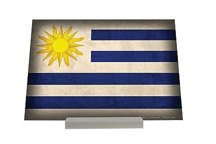 Soporte Fotografias Aventurero bandera de Uruguay Letrero Decoración