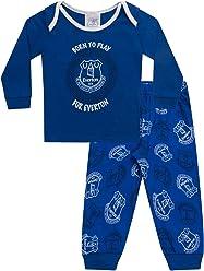 c6b89ac4f Everton FC Official Soccer Gift Boys Kids Baby Pajamas