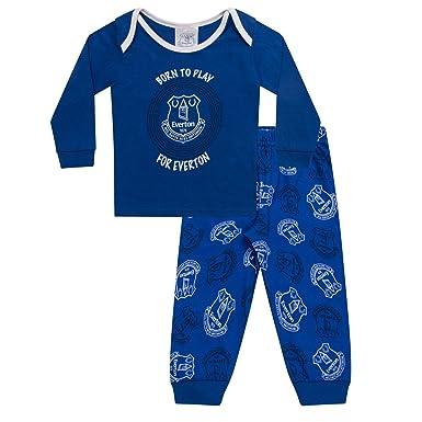 6df27306 Everton FC Official Football Gift Boys Kids Baby Pyjamas: Amazon.co.uk:  Clothing