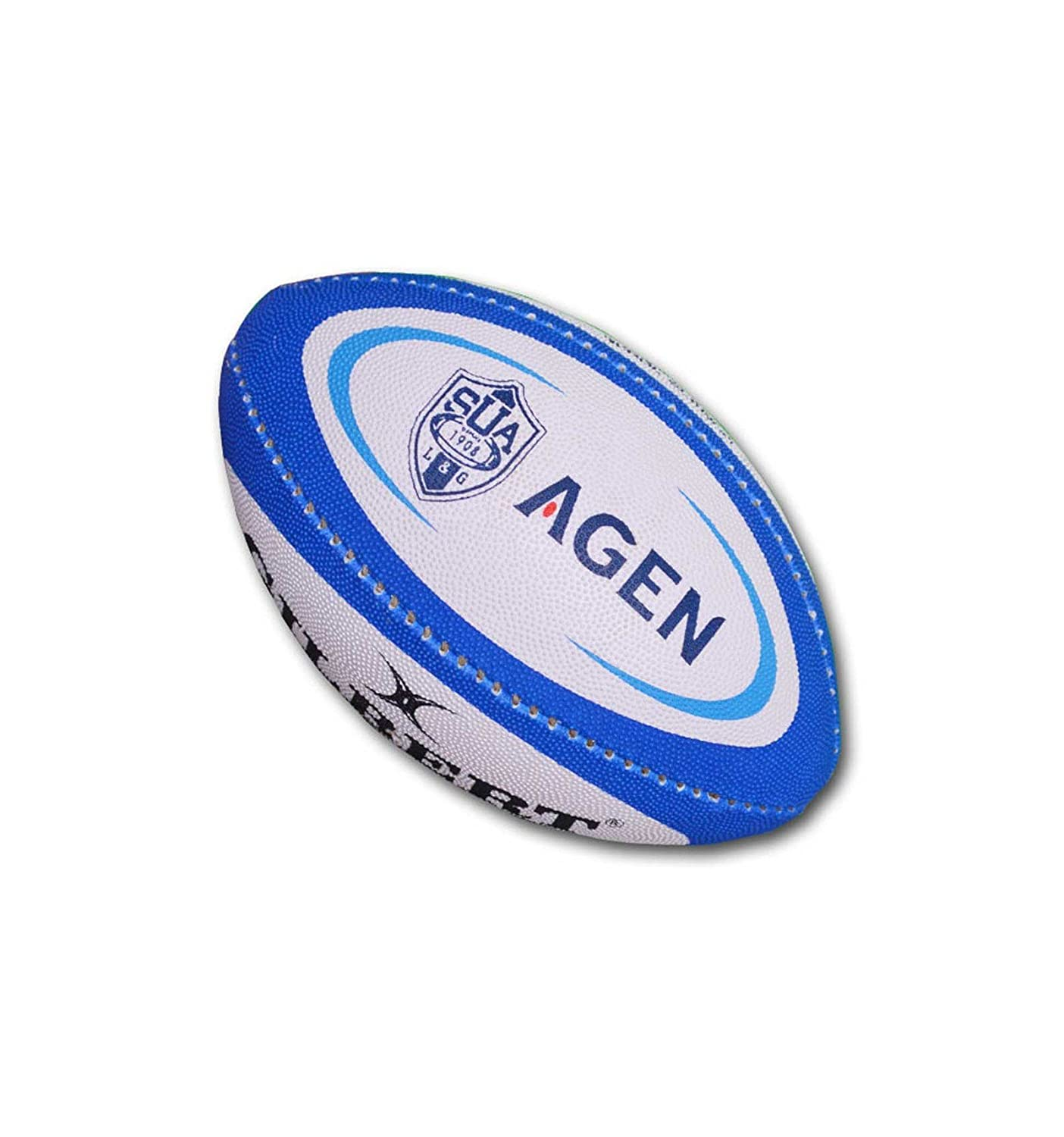 Balón Rugby – Agen Mini – Gilbert, MULTICOLOR: Amazon.es: Deportes ...