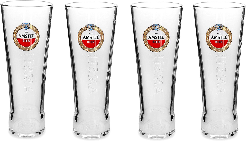 Amstel - Vaso de pinta (4 unidades)