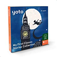 Yoto 'My First Classic Stories Collection' Card Pack for Kids for Yoto Player and Yoto App – 5 Cards Including Peter Pan…