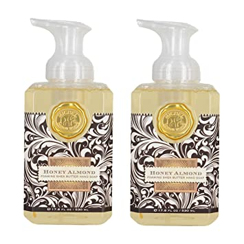 Amazoncom Michel Design Works Foaming Hand Soap Honey Almond