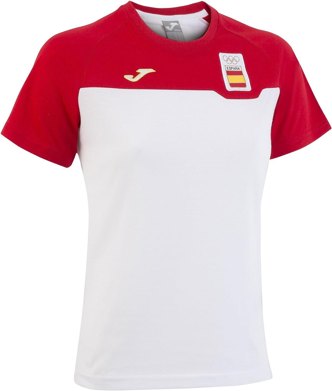 Joma CE.301011W16 Camiseta Paseo, Hombres: Amazon.es: Deportes y aire libre