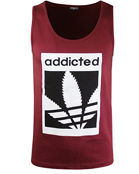 6a3575489e80e Image Unavailable. Image not available for. Color  Addicted Mens Tank Top  Shirt M