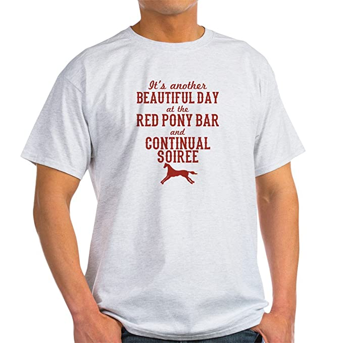 58d02943f CafePress Longmire Red Pony Continual Soiree T-Shirt 100% Cotton T-Shirt
