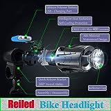 Reiled Powerful Lumens USB Rechargeable Bike