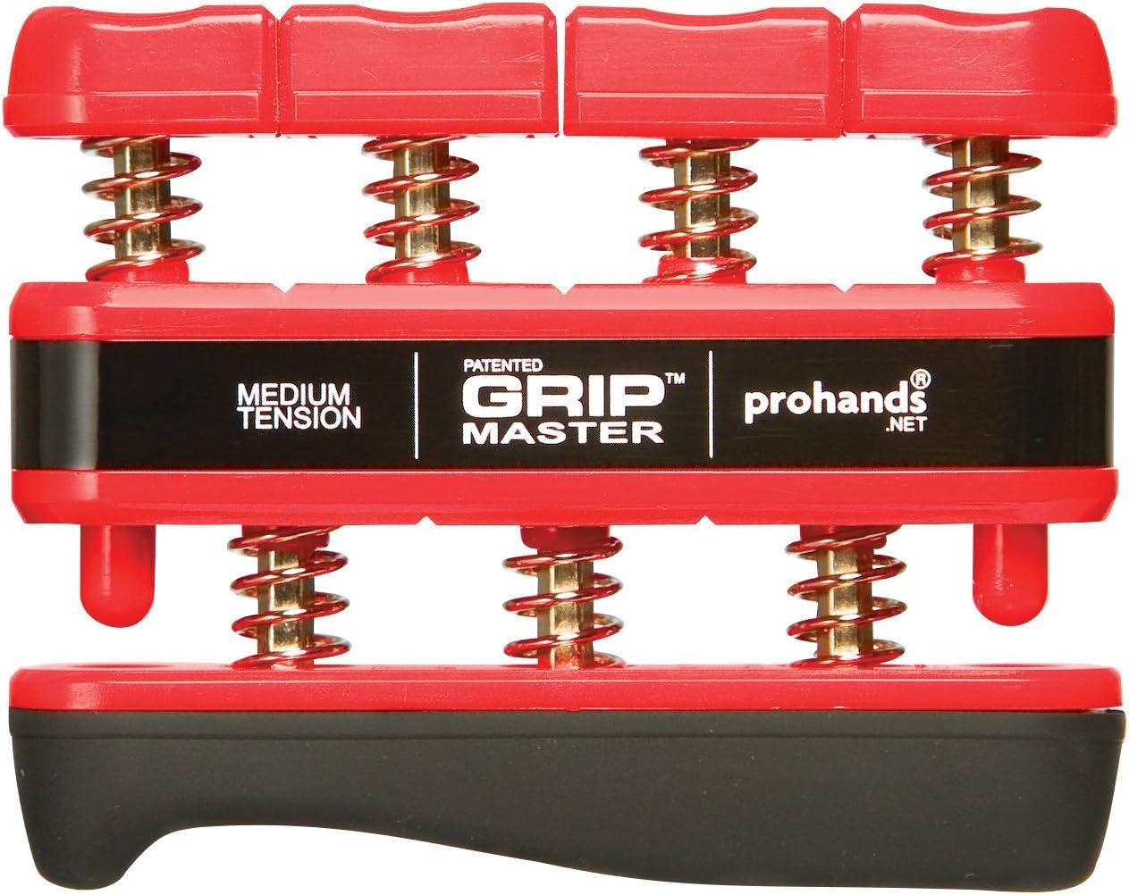 B0006GC5D8 PROHANDS Gripmaster Hand Exerciser, Finger Exerciser (Hand Grip Strengthener), Spring-Loaded, Finger-Piston System, Isolate and Exercise Each Finger 71WKKR5SZrL