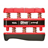prohands Gripmaster Medium Tension Hand and Finger Exerciser - Red, 7 Pounds