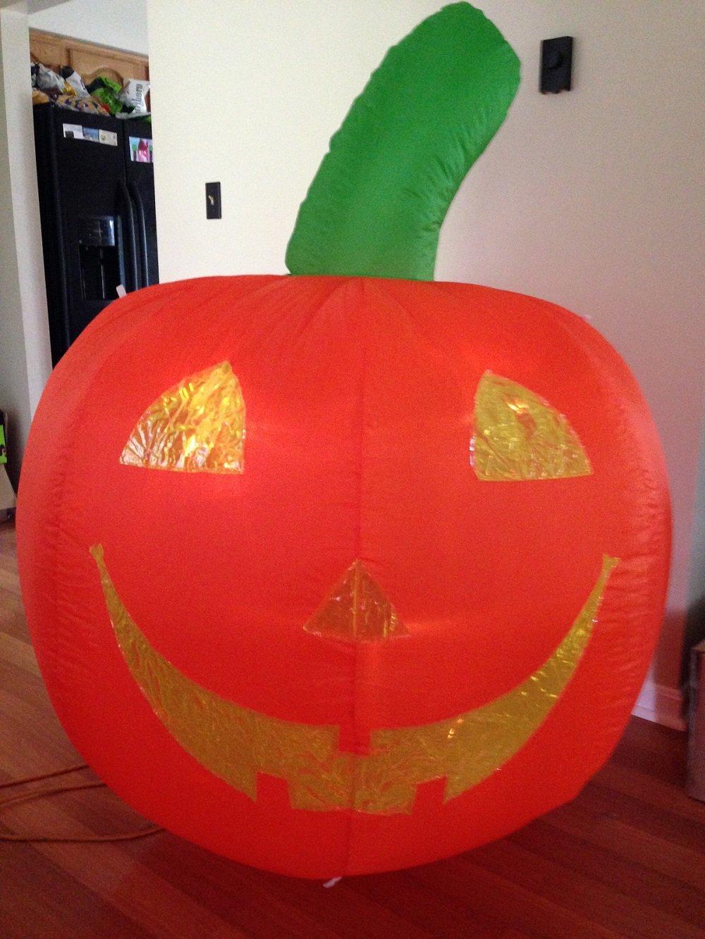 Halloween Inflatable 5' T Lighted Pumpkin