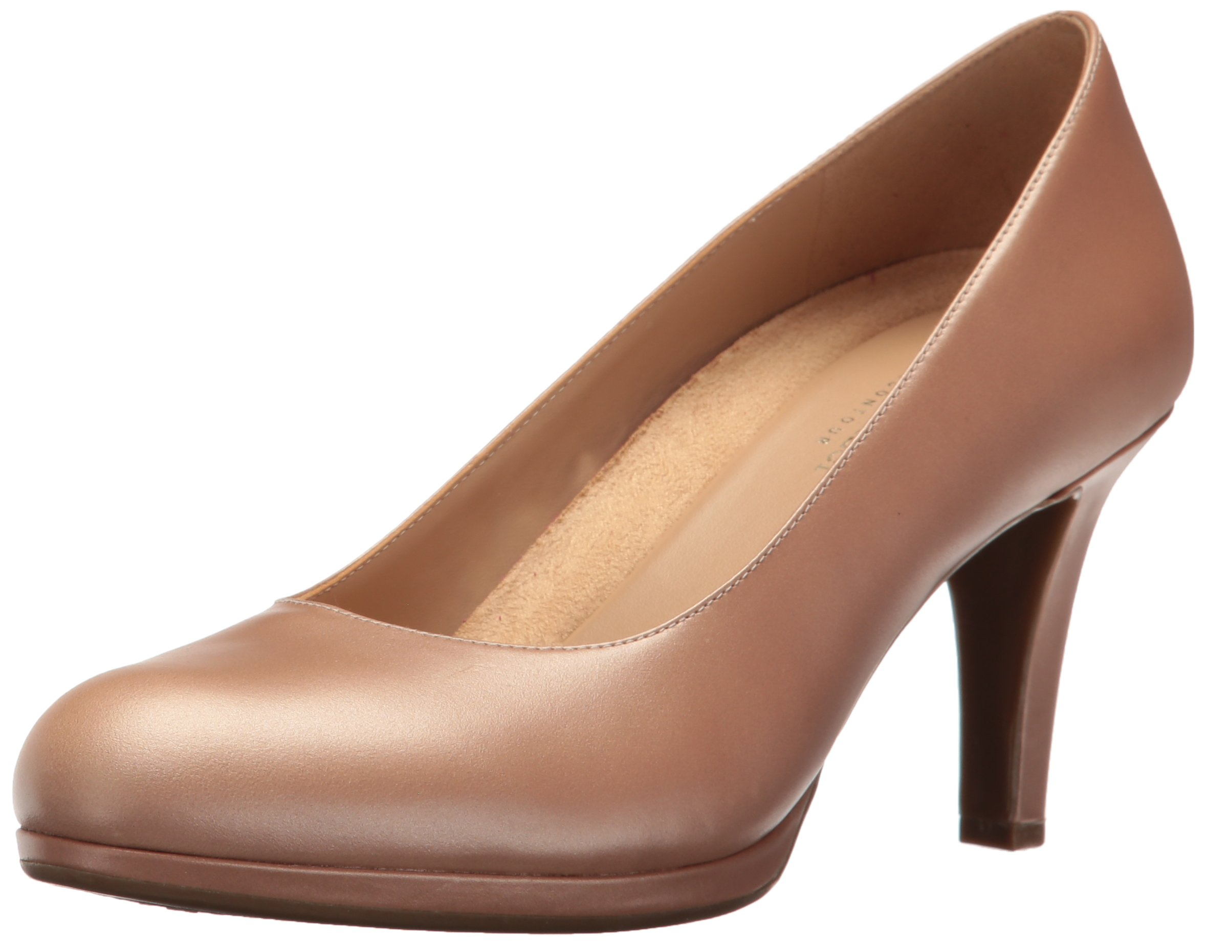 Naturalizer Women's Michelle Platform Pump, Chai, 8.5 M US