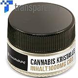 KanaVape CBD Cannabidiol Cannabis Kristalle 1000mg - 99%+ pur kristallin (nikotinfrei)