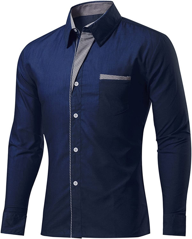 Athanie Men Shirt 2018 Spring Personality Oblique Button Irregular Men Casual Shirt