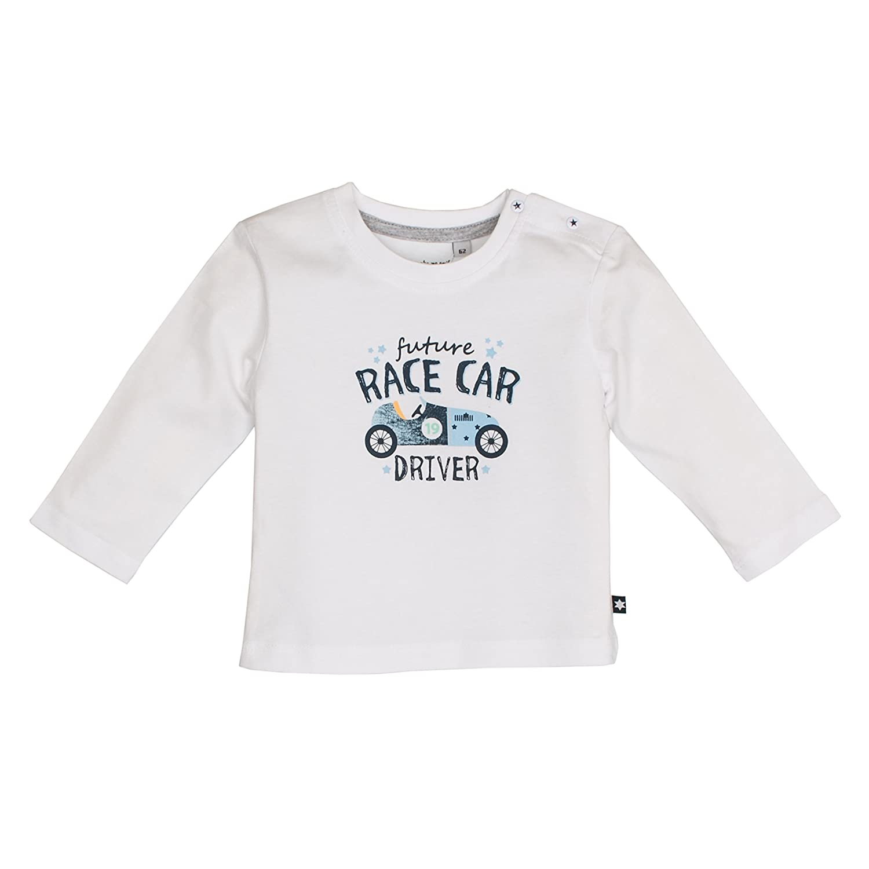 Salt & Pepper Baby Boys' Nb Ready Uni Print Longsleeve T-Shirt SALT AND PEPPER 83211101