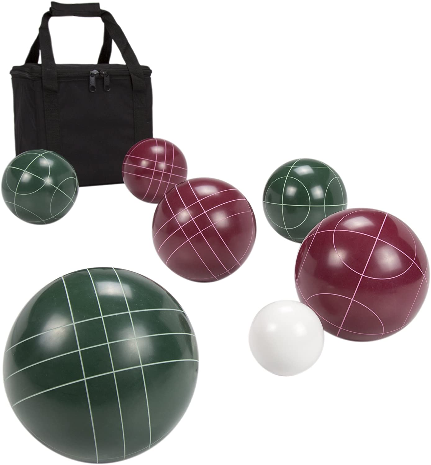 Hey 。Play 。Regulation Size Bocce Ball Set