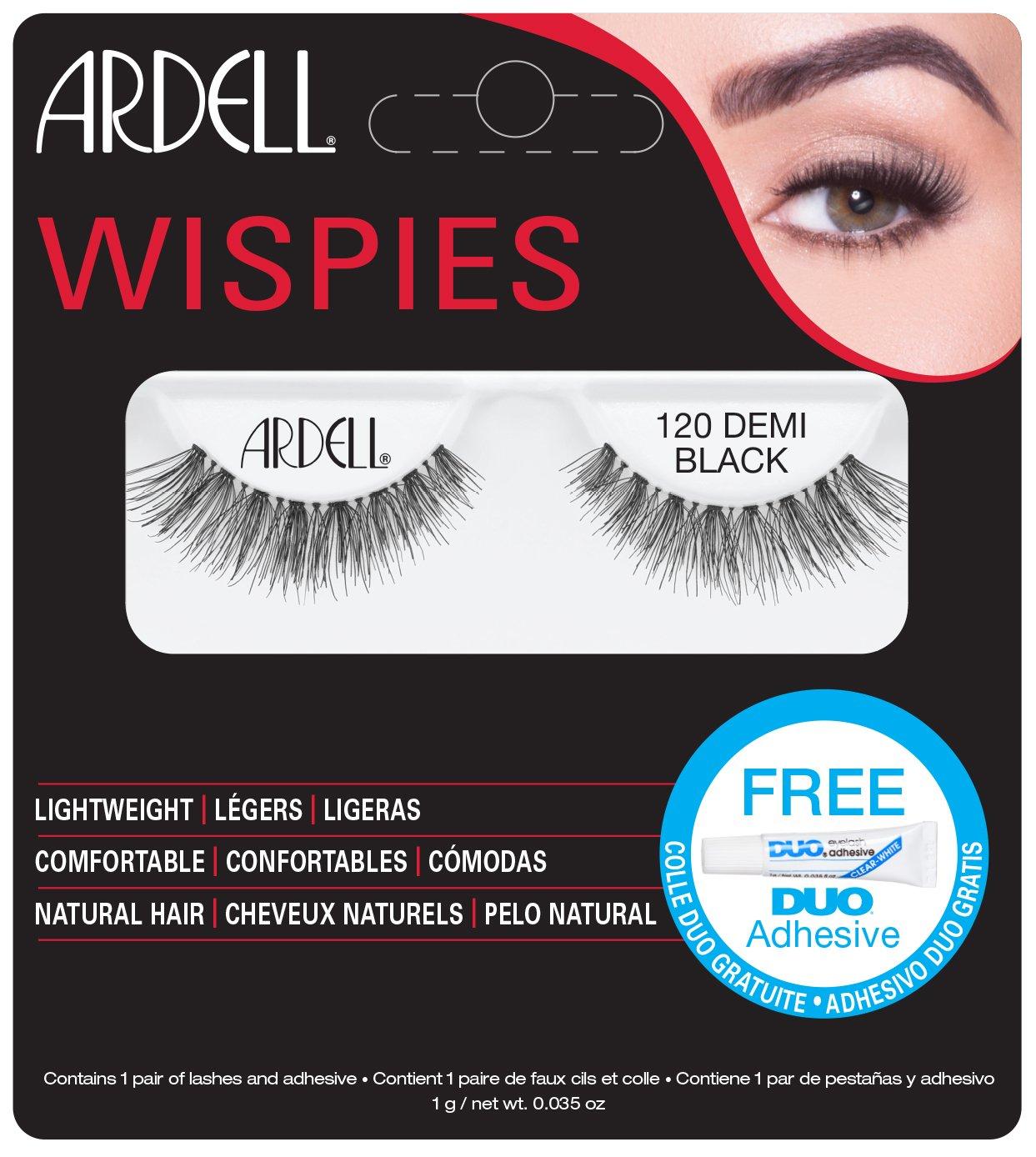 Amazon Ardell Fashion Lashes Natural Strip Lash Black 120 1