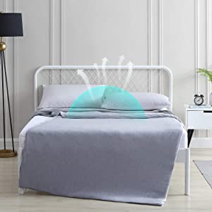 EXQ Home Cooling Weighted Blanket Cover 48x72-Twin Size Premium Soft Duvet Cover for Weighted Blanket with Zipper,Machine Washable Duvet Cover for Hot Sleeper in Summer(Grey,Duvet Cover Only)