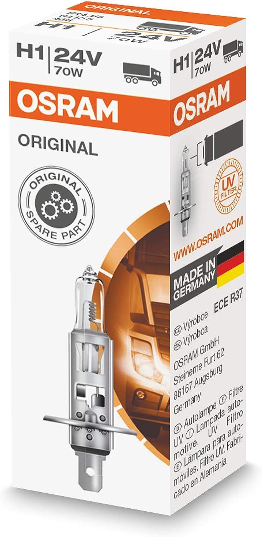 Osram Lámpara Halogen Original 64155 P14,5s 24V 70W H1