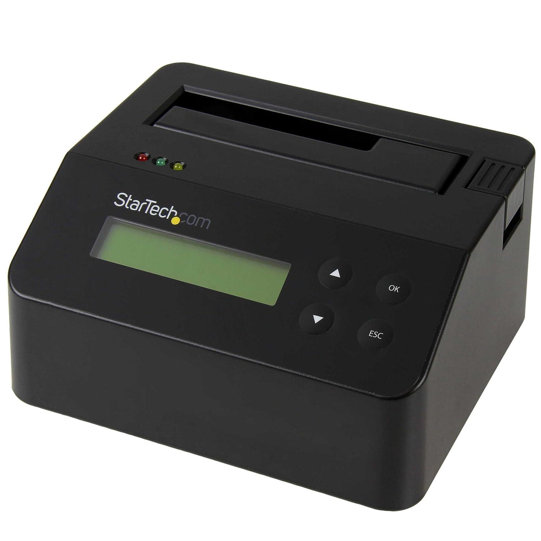StarTech.com eSATA//USB 3.0 SATA III Hard Drive Docking Station SSD//HDD with UASP 2.5//3.5 Inch SATA I//II//III SSD//HDD Dock with UASP