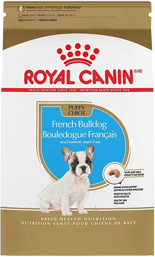 Royal Canin French Bulldog Puppy Breed Specific Dry Dog Food 3 Pounds Bag Pet Supplies