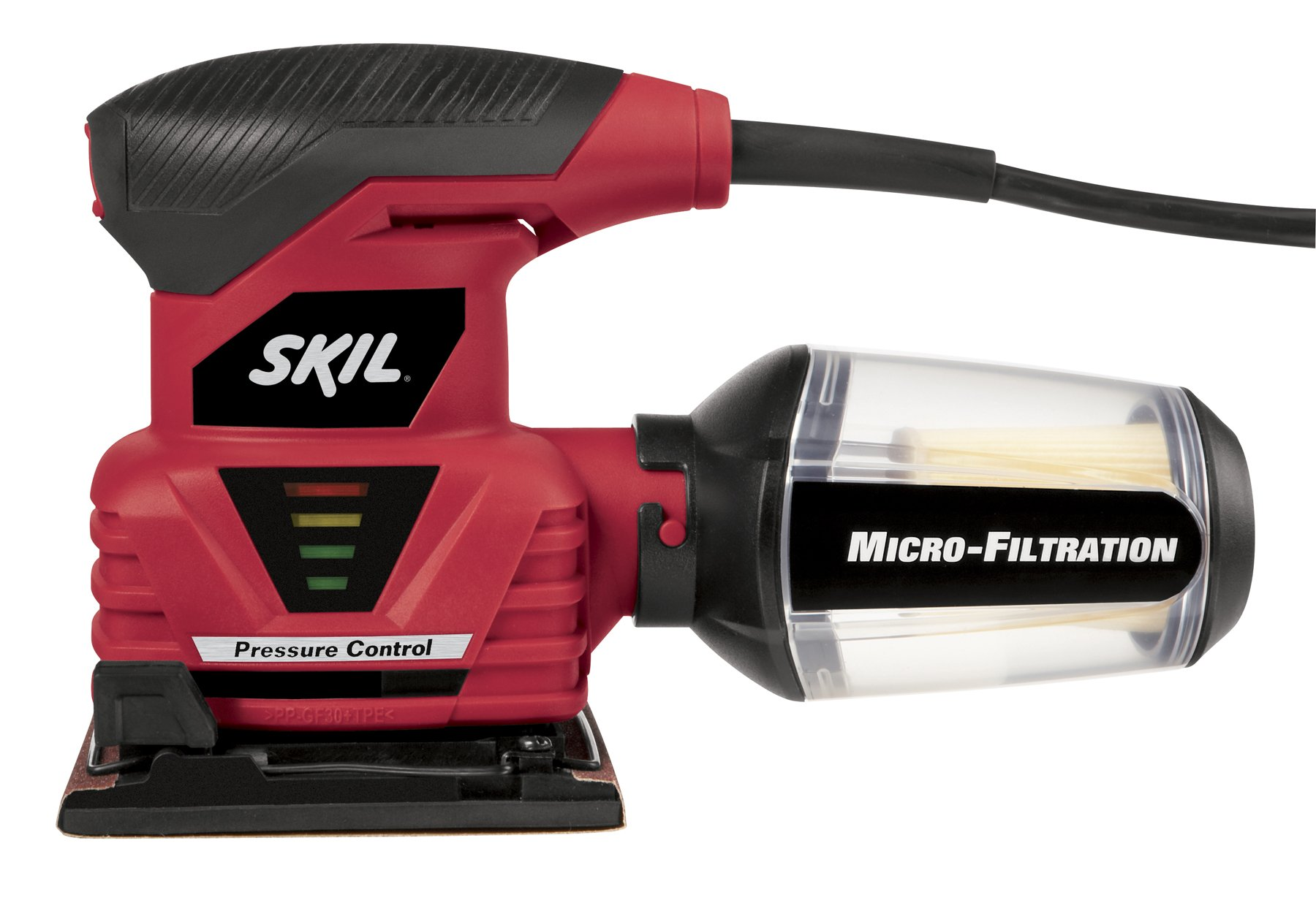 SKIL 7292-02 2.0 Amp 1/4 Sheet Palm Sander with Pressure Control by Skil (Image #2)