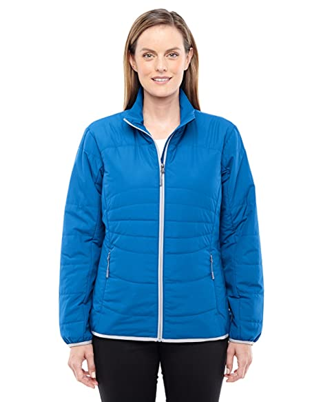 brand new 88f3b c920a North End Womens Resolve Interactive Insulated Packable Jacket (78231) at  Amazon Women s Coats Shop