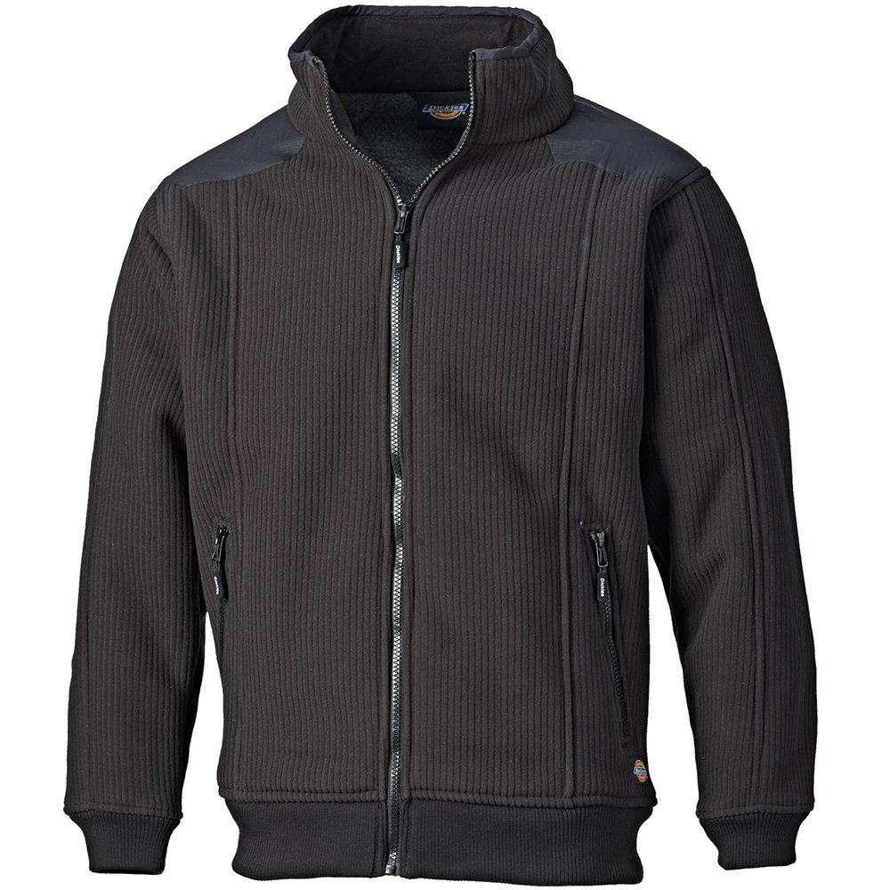 Dickies EH89001 BK M Size Medium 'Eisenhower' Fleece Jacket - Black