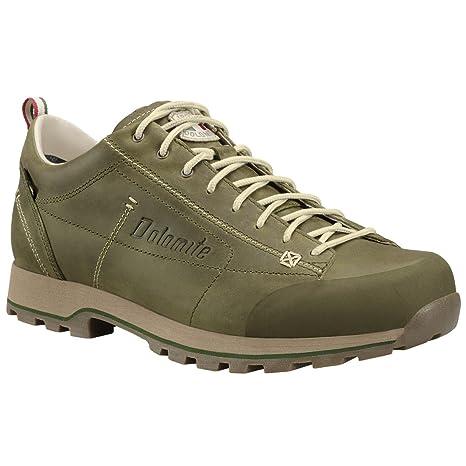 Dolomite Cinquantaquattro ZINQUANTAQUATTRO Low FG GTX, scarpe da uomo, nero, 12 EU, Unisex Adulto, Oliva, 46 12 EU