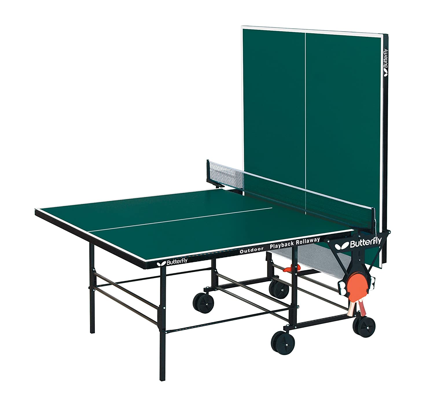 Marvelous Amazon.com : Butterfly Playback Rollaway Indoor/Outdoor Table Tennis Table  : Outdoor Ping Pong Table : Sports U0026 Outdoors
