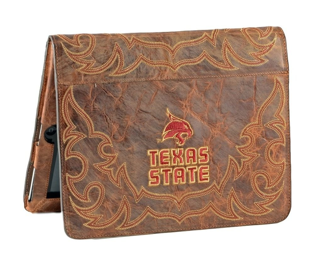 Gameday Boots NCAA Texas State Bobcats Swt-IP009Texas State University iPad 2 Cover Brass One Size