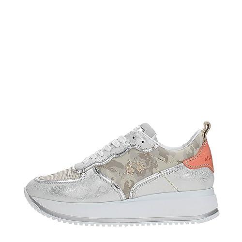 La Martina Shoes L5120230 Sneakers Donna  Amazon.it  Scarpe e borse 368b61dc16a