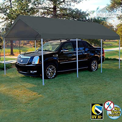King Canopy Hercules 10X20 Canopy w/Silver Cover: Kitchen & Dining